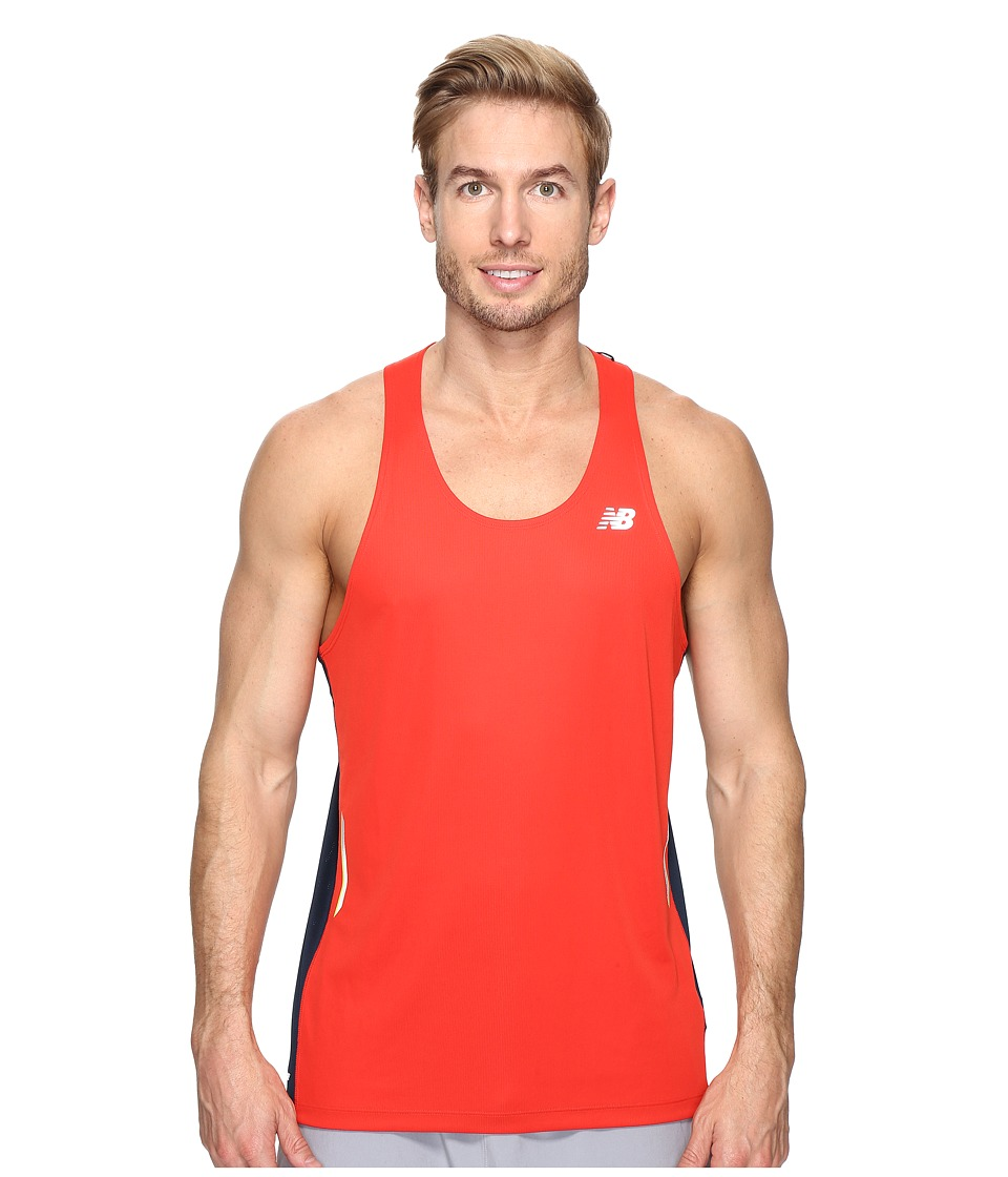 New Balance - NB Ice Singlet (Atomic/Galaxy) Men's Sleeveless