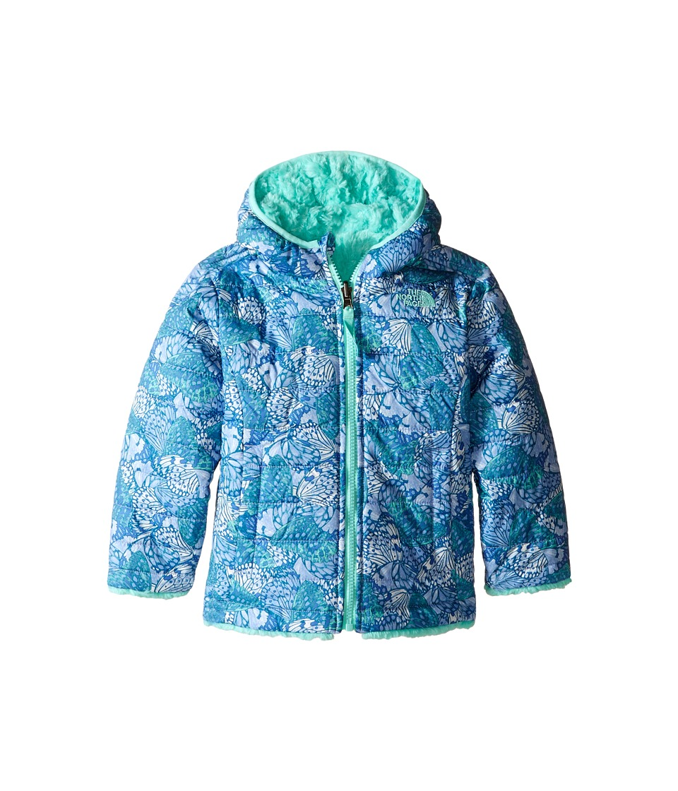 The North Face Kids - Reversible Mossbud Swirl Jacket (Toddler) (Grapemist Blue Butterfly Camo) Girl's Coat