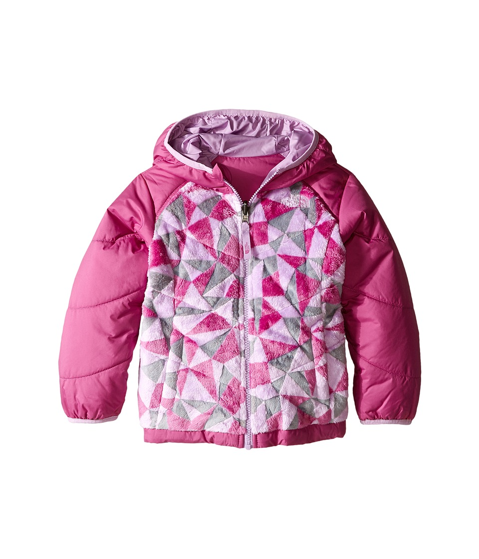 The North Face Kids - Reversible Perseus Jacket (Toddler) (Wisteria Purple Triangle Camo) Girl's Coat