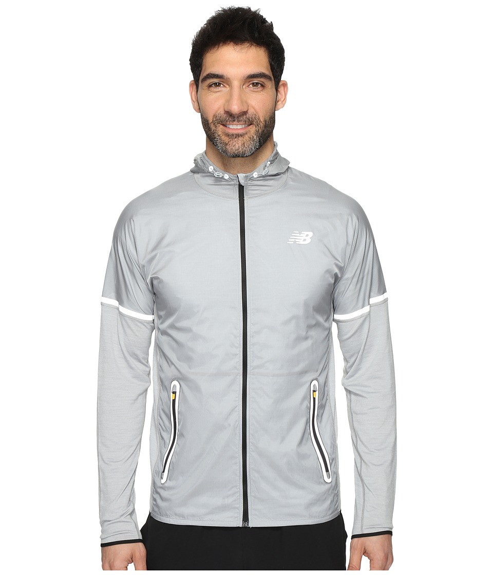 New Balance Performance Merino Hybrid Jacket (Athletic Grey) Men