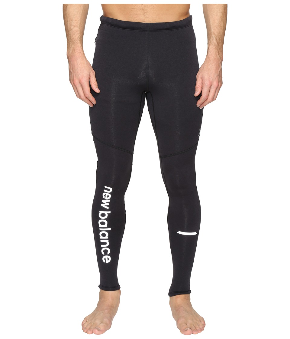 New Balance - Performance Merino Tights (Black) Men's Casual Pants