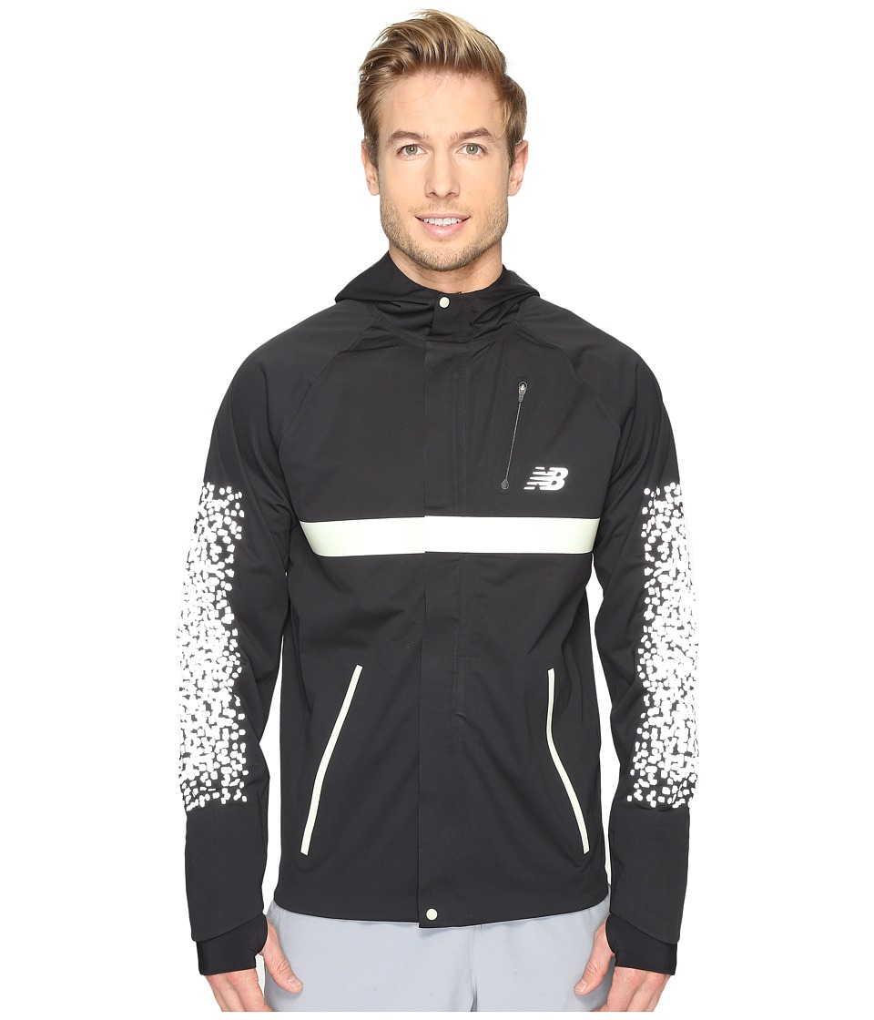 New Balance - Beacon Jacket (Black) Men's Coat