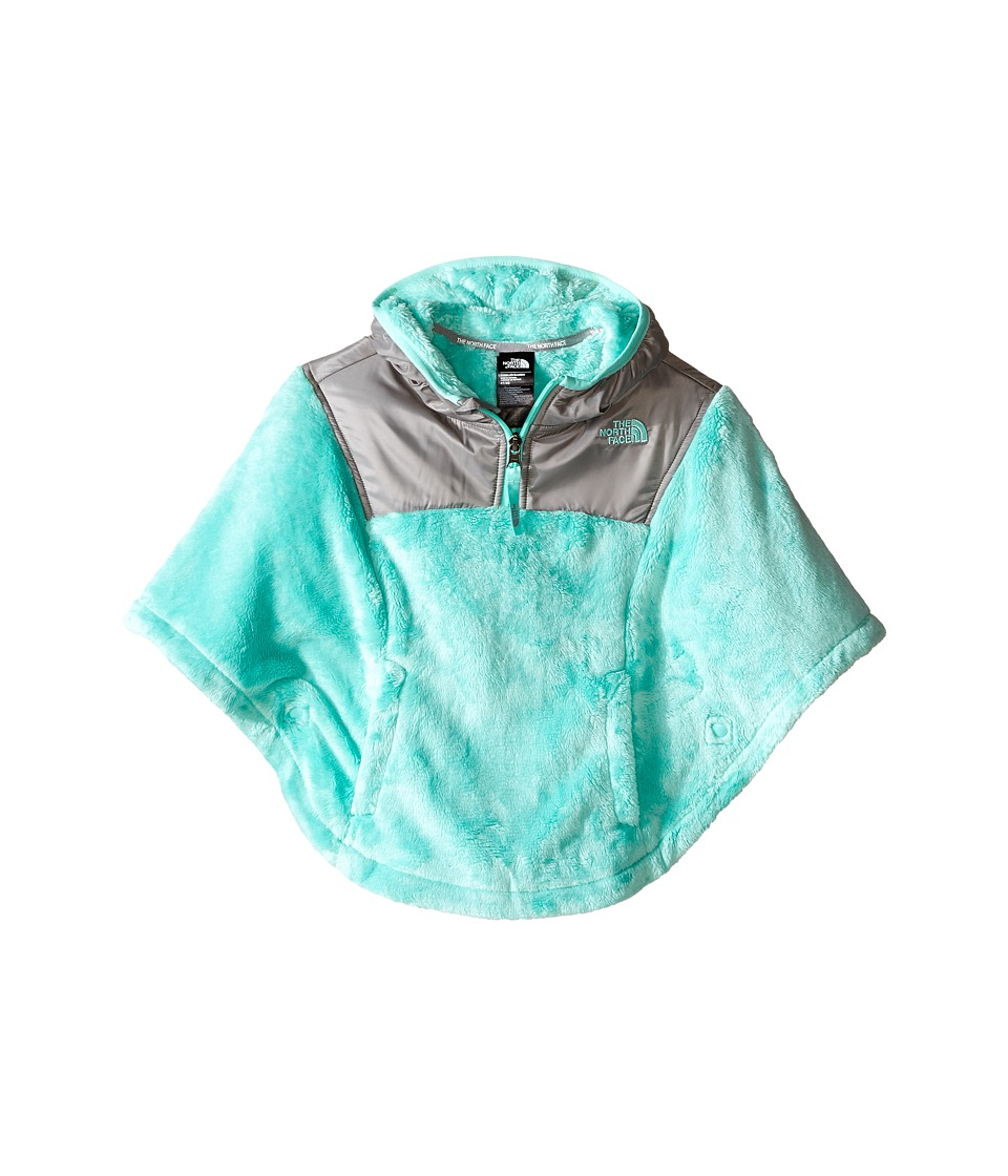 The North Face Kids - Oso Poncho (Toddler) (Ice Green (Prior Season)) Girl's Sweatshirt