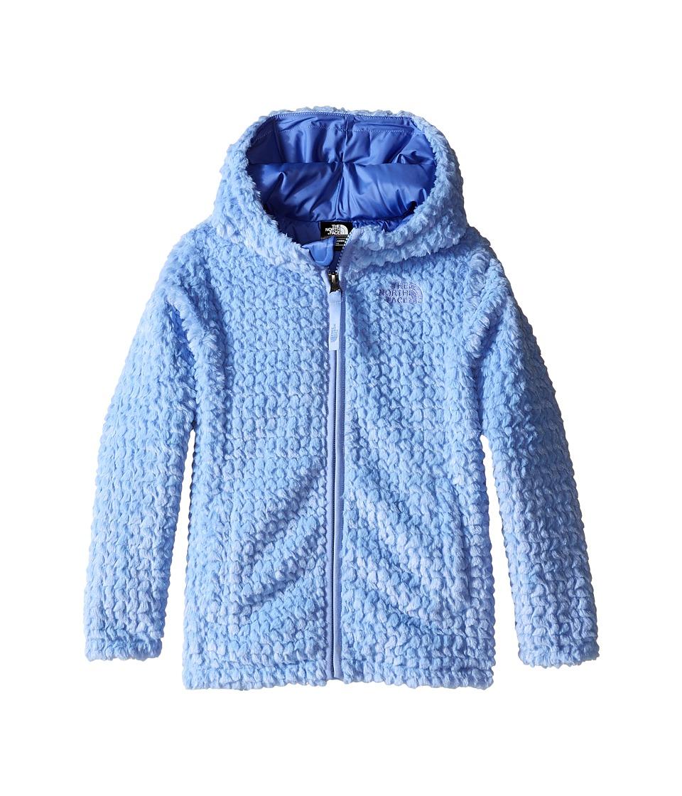 The North Face Kids - Laurel Fleece Hoodie (Toddler) (Grapemist Blue) Girl's Sweatshirt