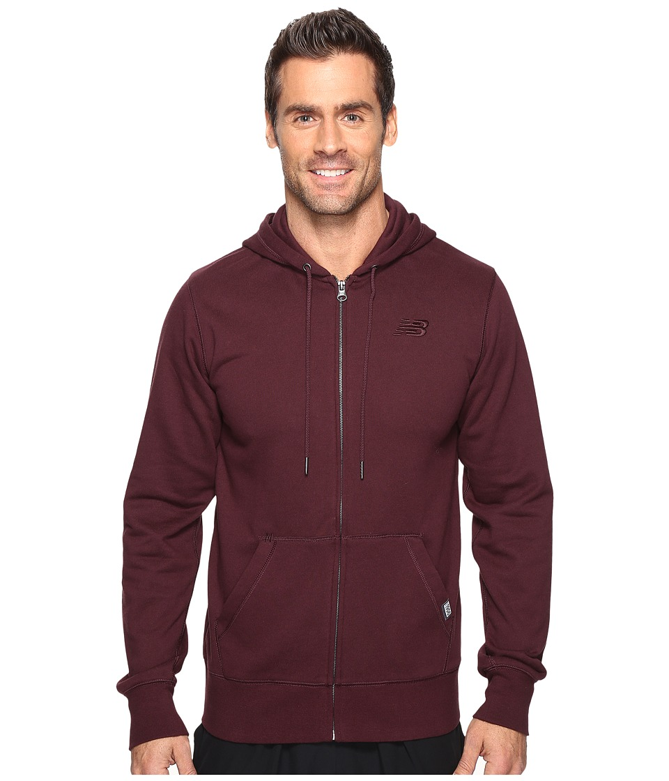 New Balance - Classic Full Zip Hoodie (Supernova) Men's Sweatshirt