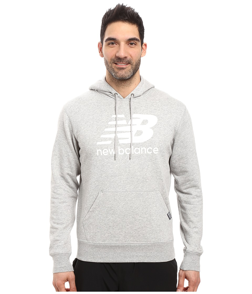New Balance - Classic Pullover Hoodie (Athletic Grey) Men's Sweatshirt