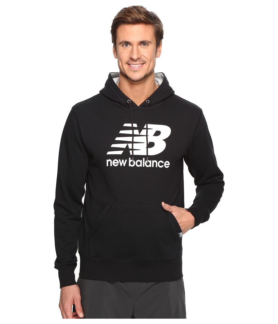 New Balance - Classic Pullover Hoodie (Black) Men's Sweatshirt