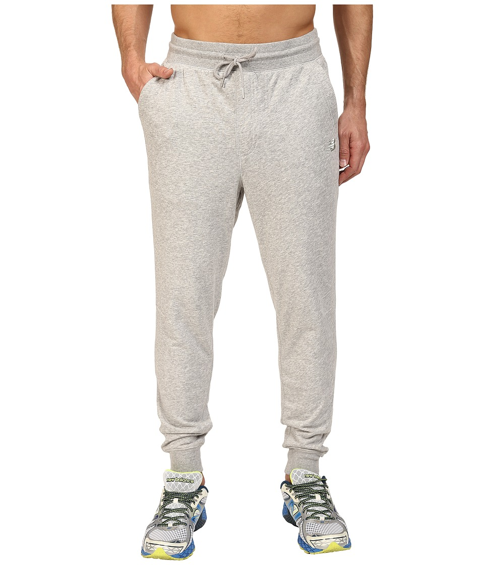 New Balance - Classic Tailored Sweatpants (Athletic Grey) Men's Casual Pants