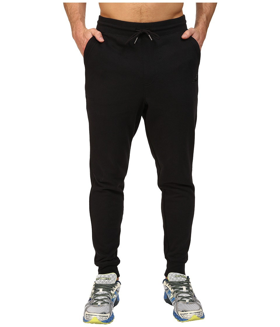 New Balance - Classic Tailored Sweatpants (Black) Men's Casual Pants