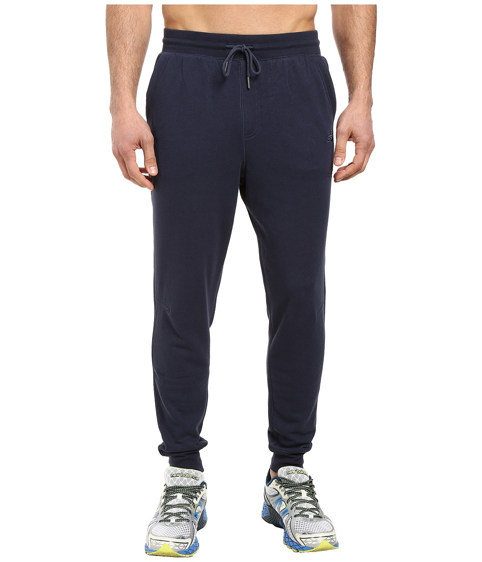 New Balance - Classic Tailored Sweatpants (Navy) Men's Casual Pants