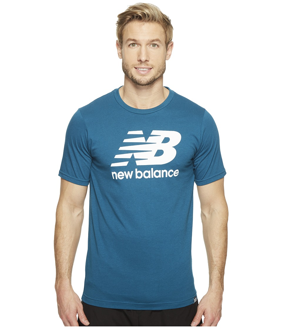 New Balance Classic Short Sleeve Logo Tee (Castaway) Men