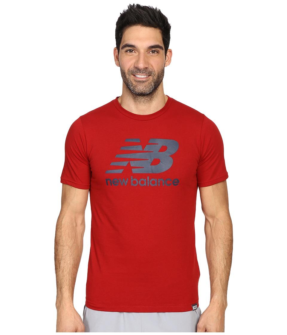 New Balance - Classic Short Sleeve Logo Tee (Envy) Men's T Shirt