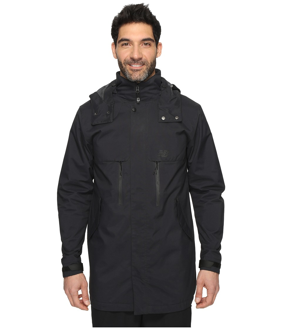 New Balance - Drop Tail Jacket (Black) Men's Coat