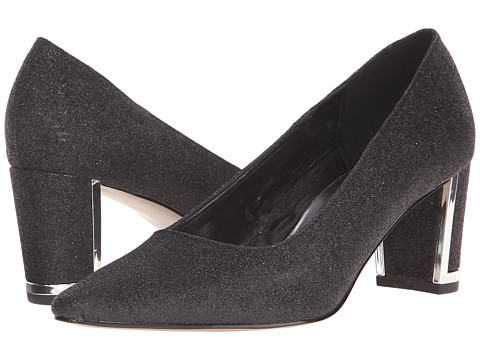 Easy Street - Stellar (Black Glitter) High Heels