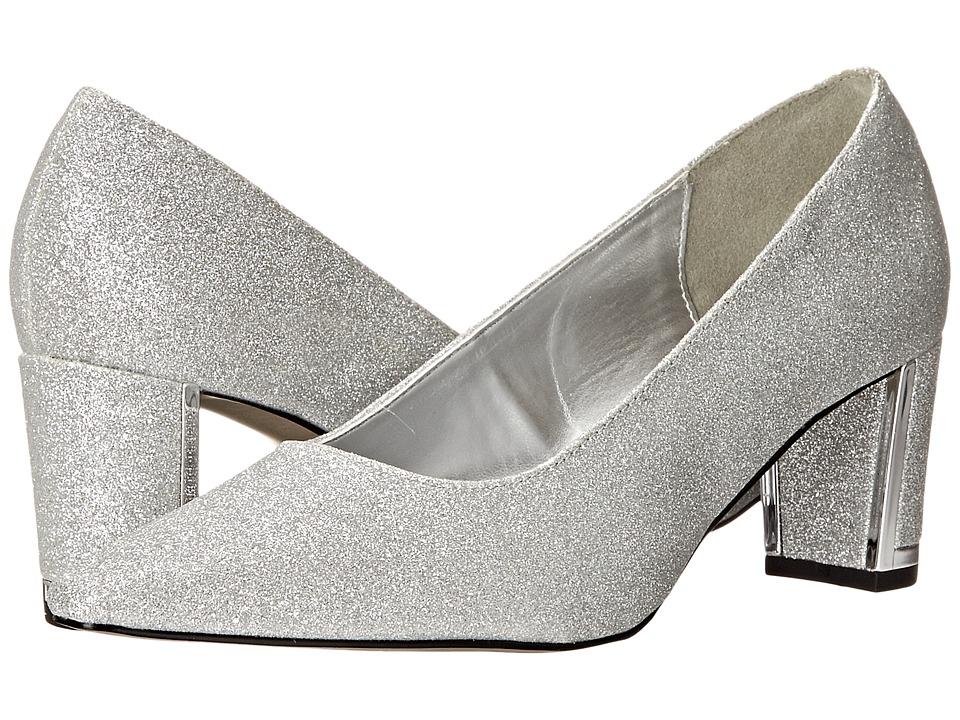 Easy Street - Stellar (Silver Glitter) High Heels