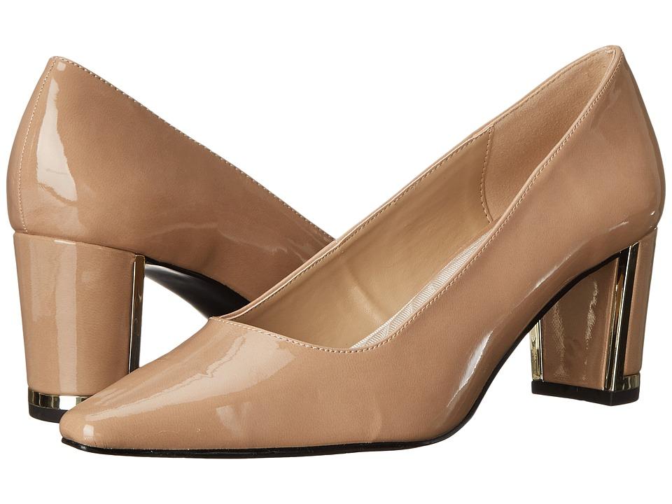 Easy Street Stellar (Nude Patent) High Heels
