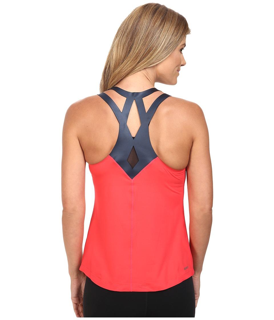New Balance - Fashion Tank Top (Blossom/Black) Women's Sleeveless