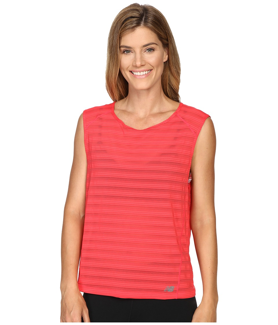 New Balance Fashion Layer Tee (Blossom) Women