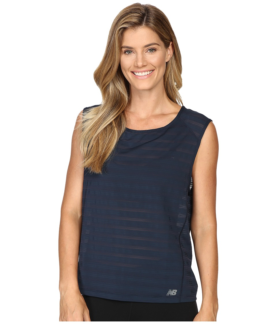 New Balance - Fashion Layer Tee (Galaxy) Women