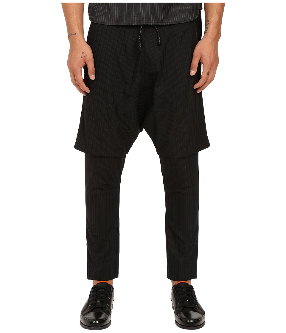 PRIVATE STOCK - The Fez Pants (Black Stripe) Men's Casual Pants