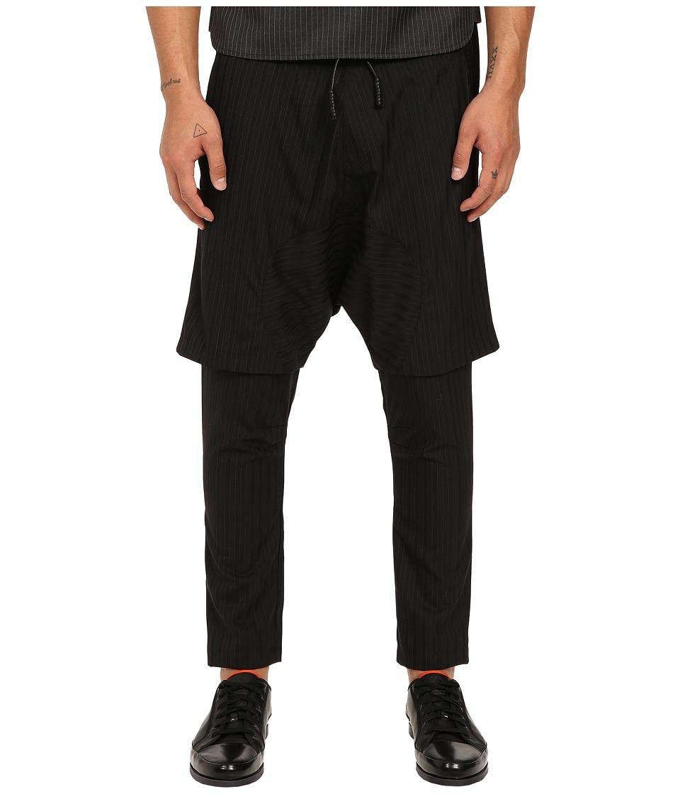 PRIVATE STOCK - The Fez Pants (Black Stripe) Men's Casual Pants