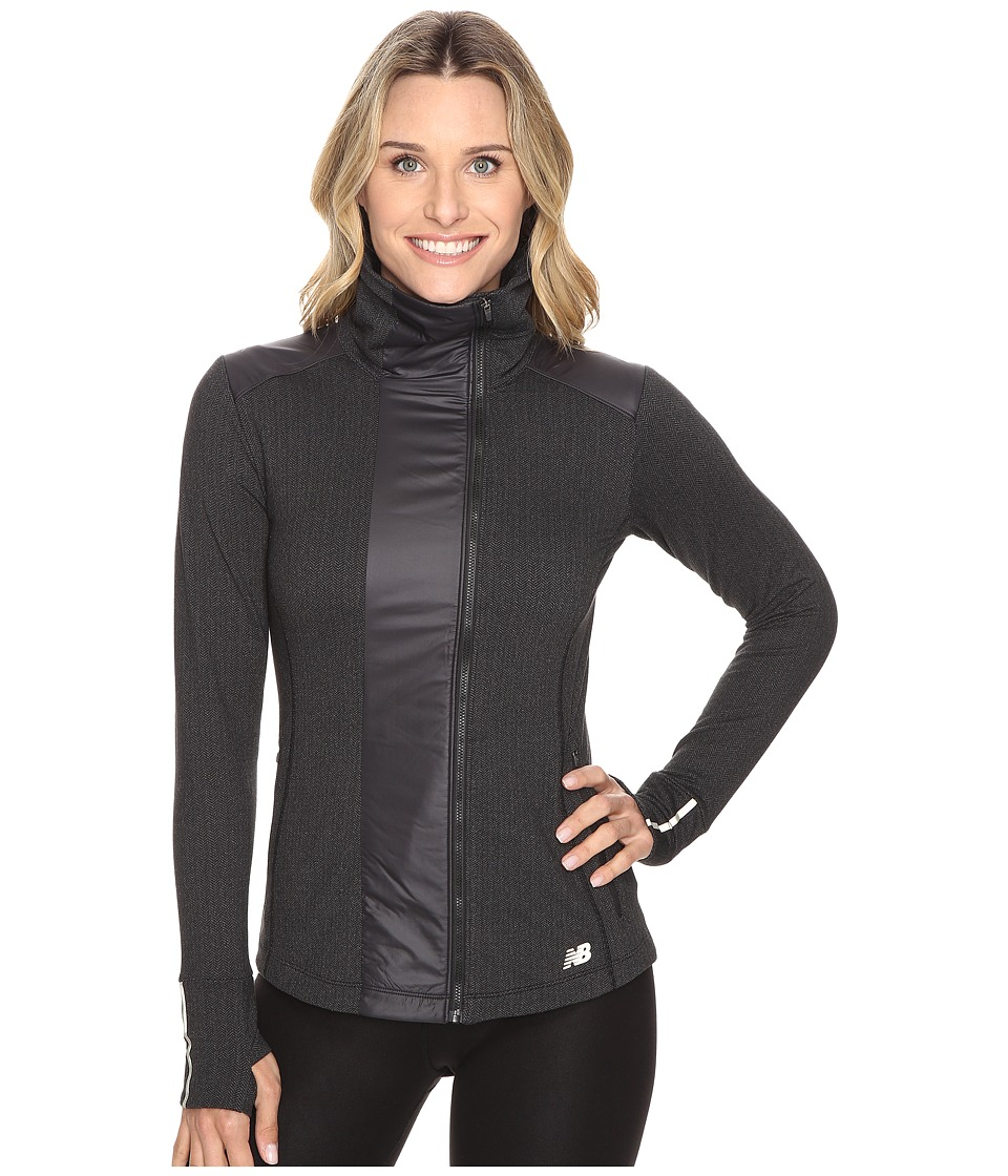 New Balance - Novelty Heat Jacket (Black) Women's Coat