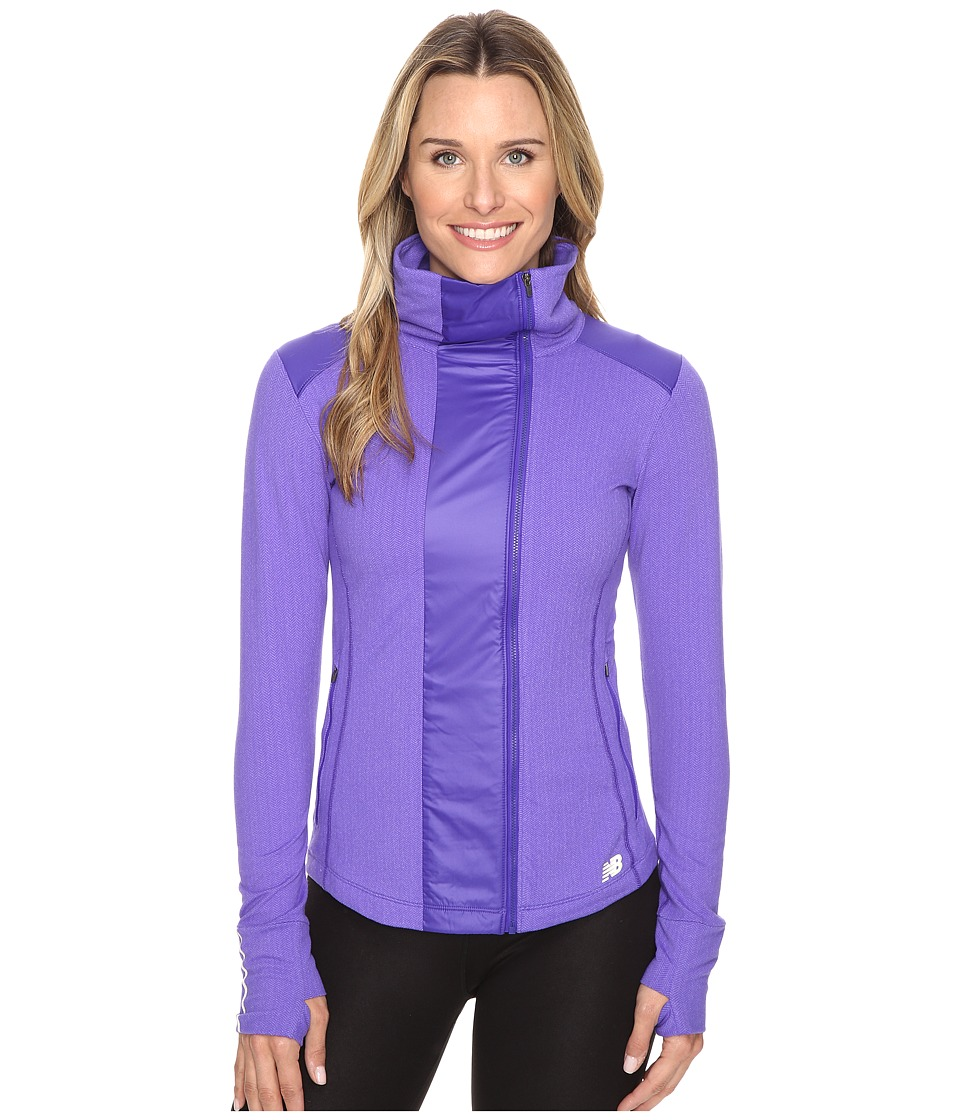New Balance - Novelty Heat Jacket (Spectral) Women's Coat