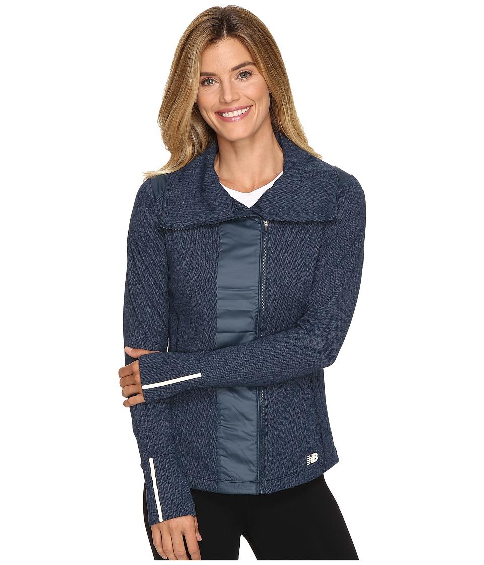 New Balance - Novelty Heat Jacket (Galaxy) Women's Coat