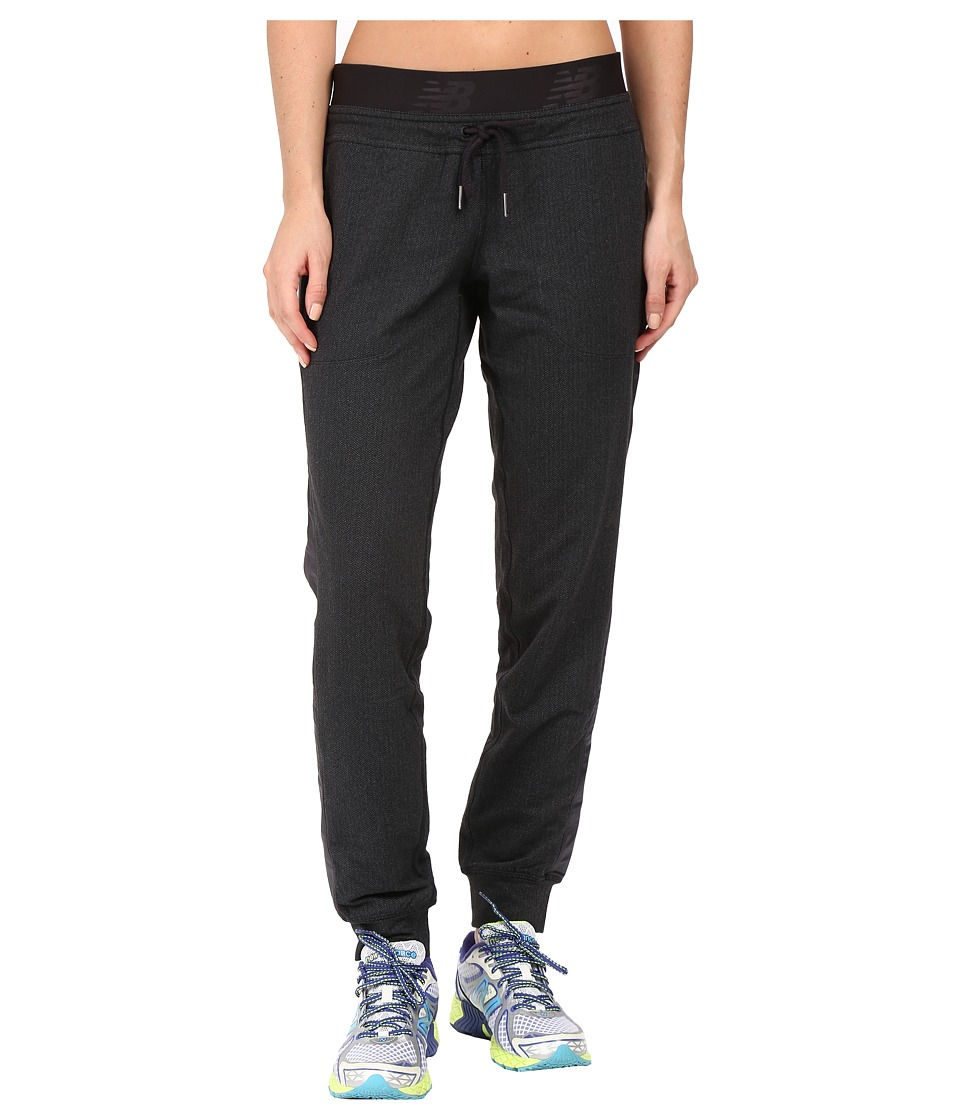 New Balance - Novelty Heat Joggers (Black) Women's Casual Pants