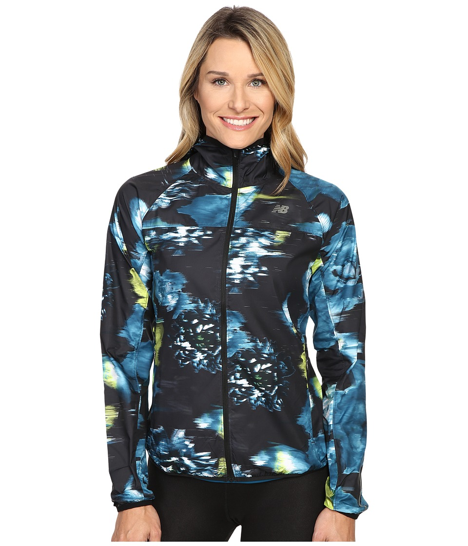 New Balance - Windcheater Jacket (Urban Floral Print) Women's Coat