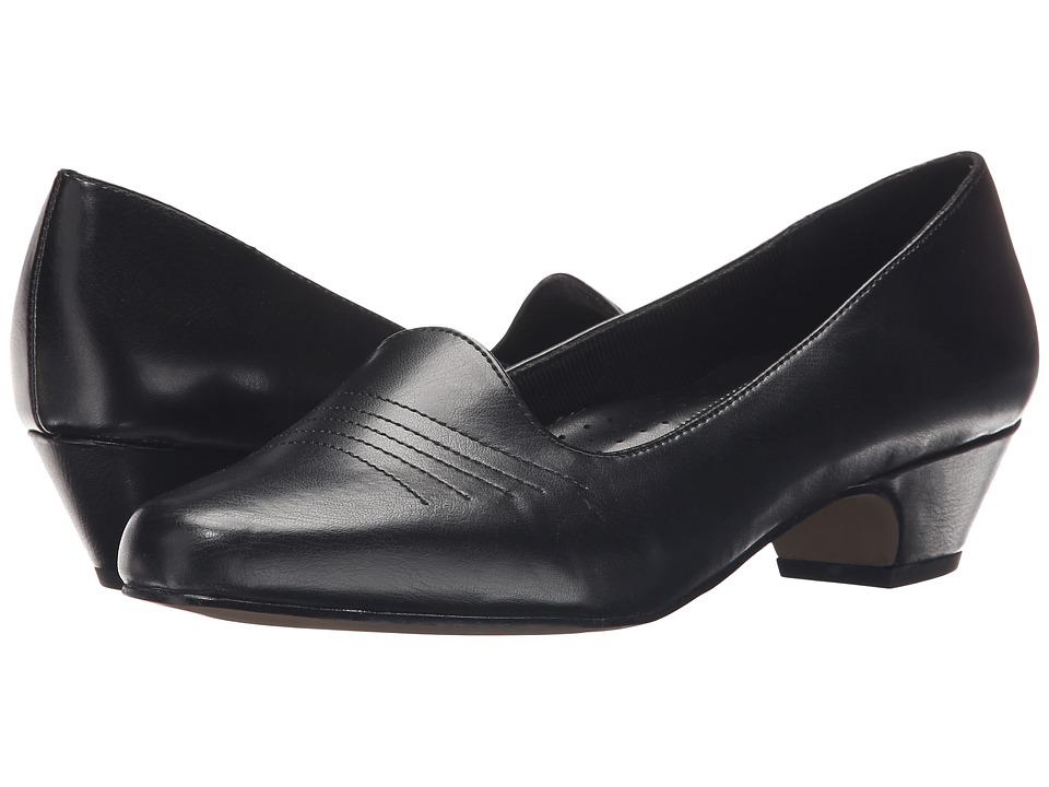 Easy Street - Grace (Black) Women's 1-2 inch heel Shoes