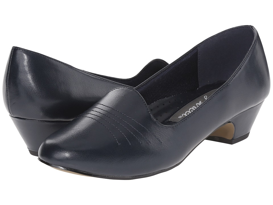 Easy Street - Grace (Navy) Women's 1-2 inch heel Shoes