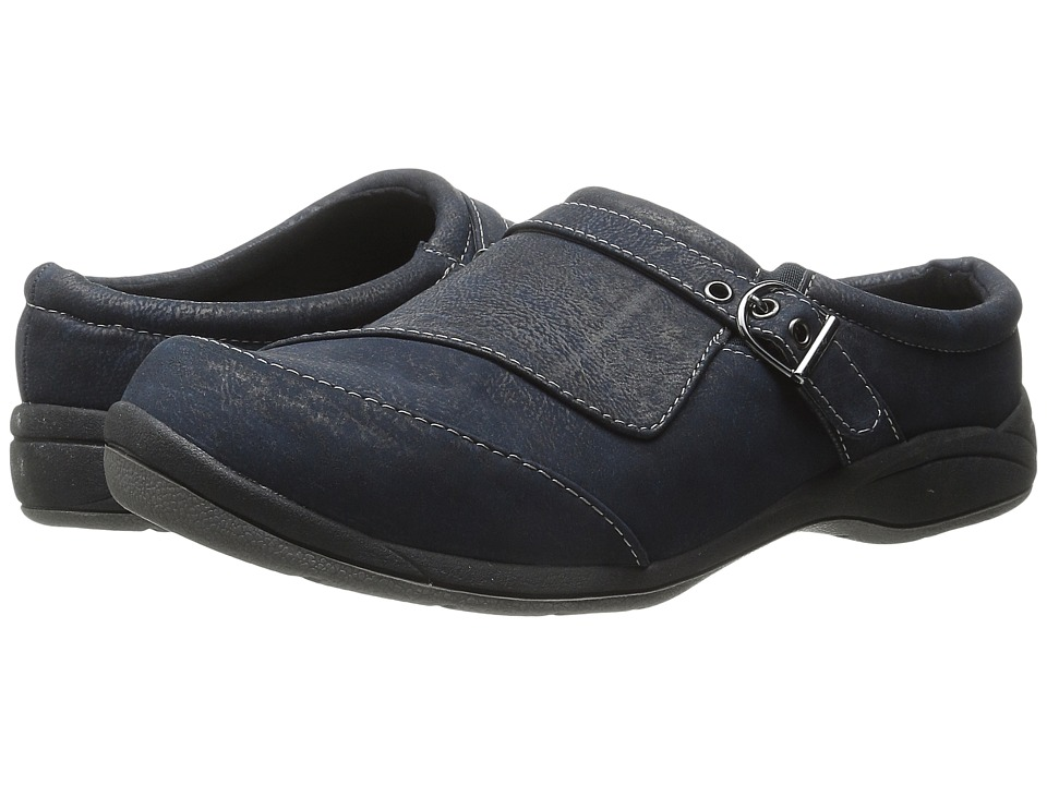 Easy Street - Comet (Navy) Women's Slip on Shoes