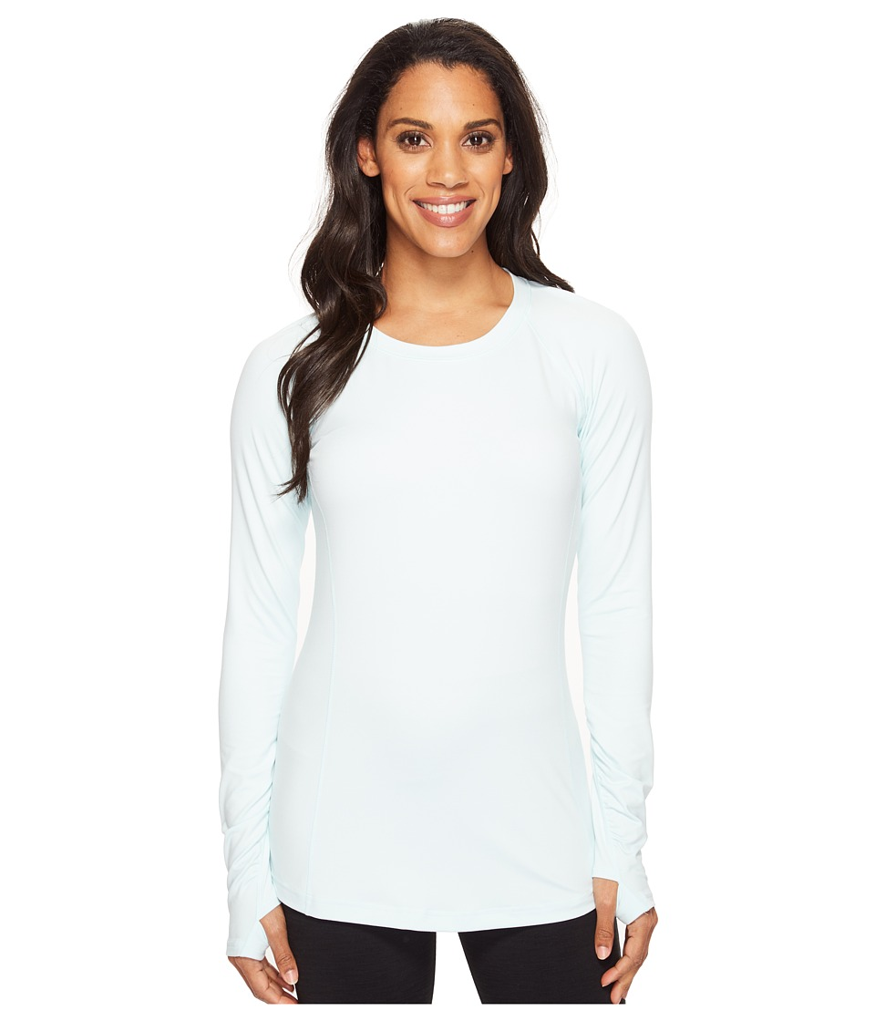 New Balance - In Transit Long Sleeve Top (Droplet) Women's Long Sleeve Pullover
