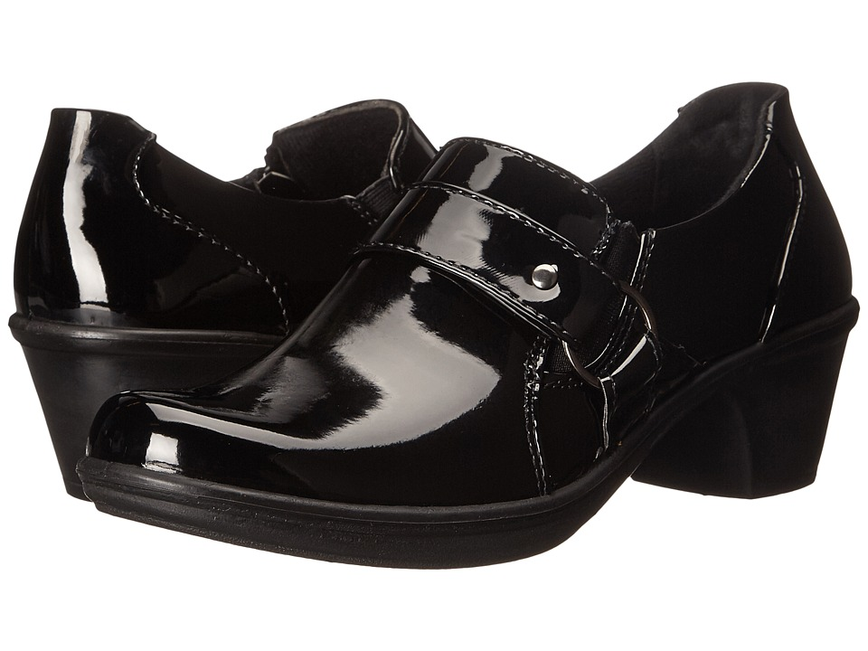 Easy Street - Culture (Black Patent) Women's 1-2 inch heel Shoes