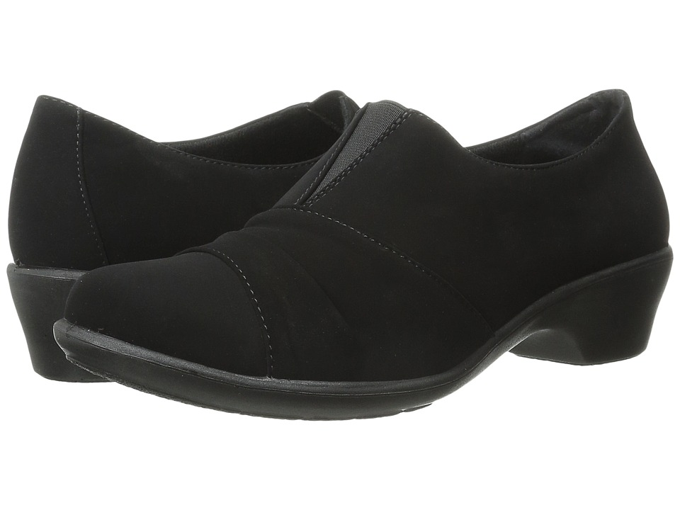 Easy Street - Yvette (Black Lamey) Women's 1-2 inch heel Shoes