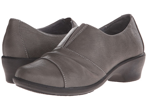 Easy Street - Yvette (Grey) Women's 1-2 inch heel Shoes