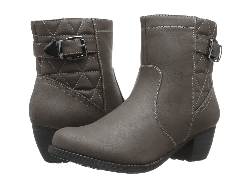 Easy Street - Crosby (Brown/Brown Quilted) Women's Pull-on Boots