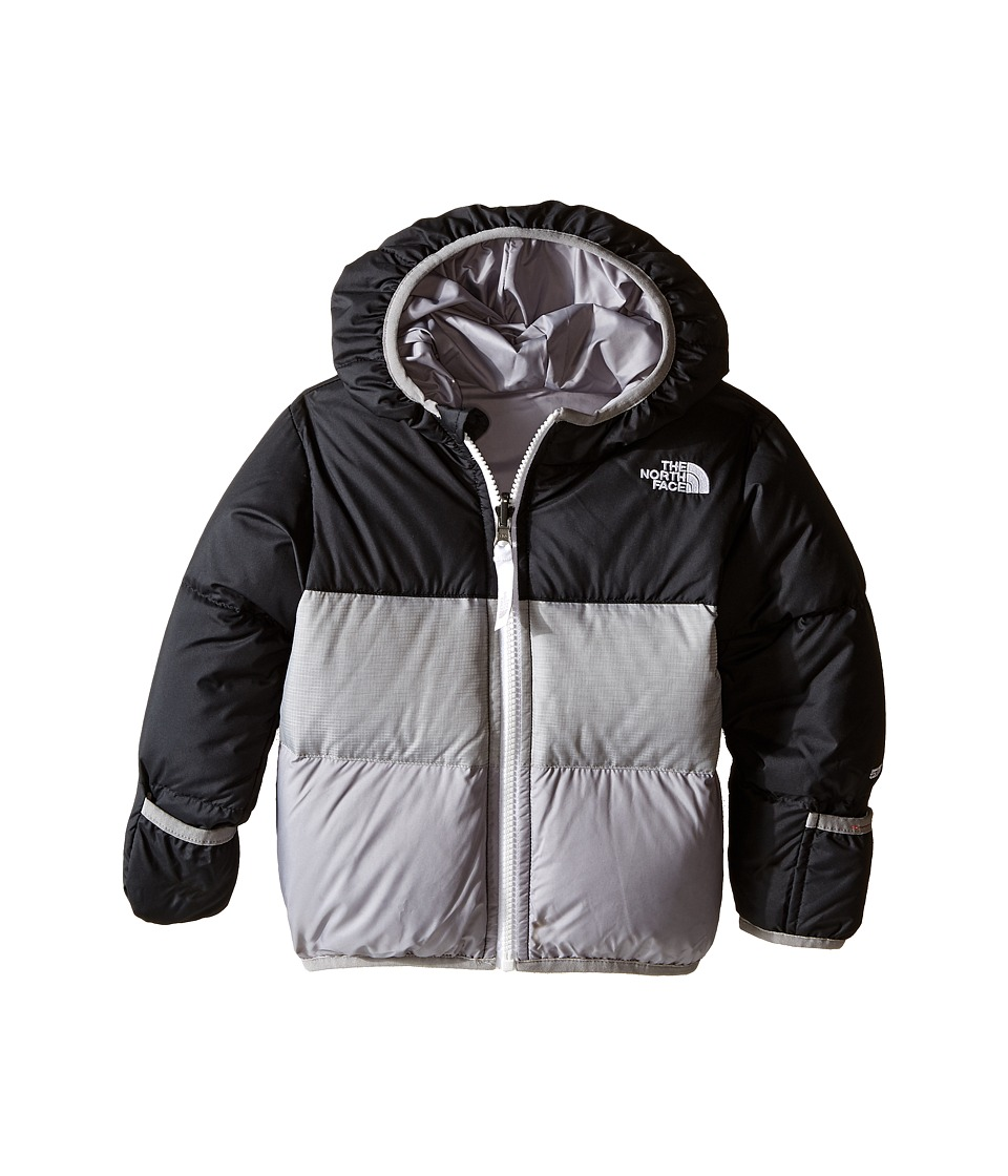 The North Face Kids - Reversible Moondoggy Jacket (Infant) (TNF Black/Metallic Silver) Kid's Coat