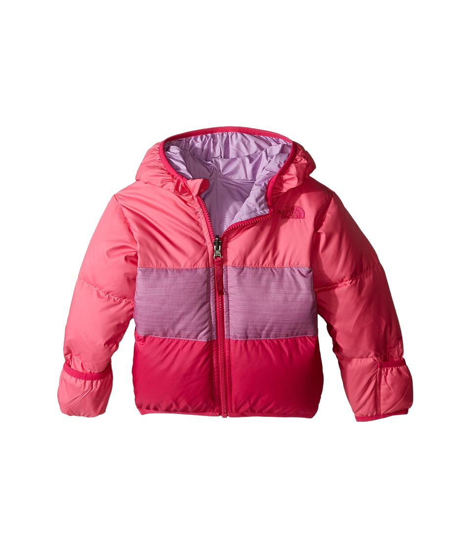 The North Face Kids - Reversible Moondoggy Jacket (Infant) (Cha Cha Pink) Kid's Coat