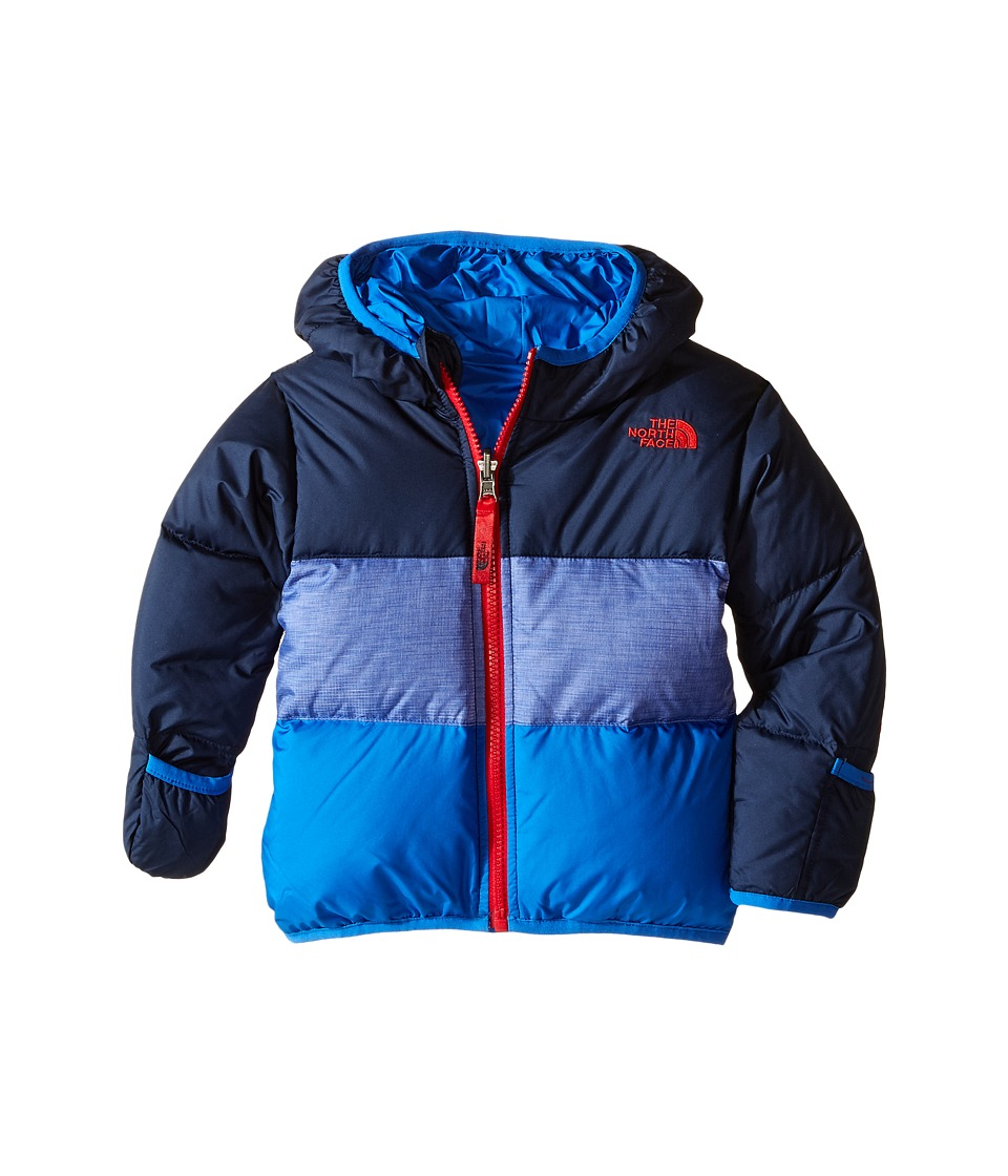 The North Face Kids - Reversible Moondoggy Jacket (Infant) (Cosmic Blue) Kid's Coat