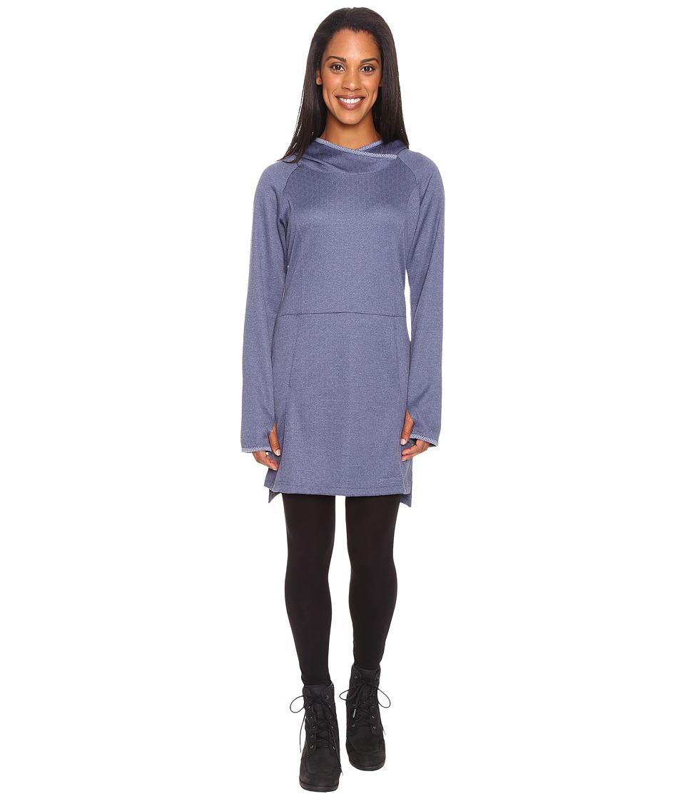 ExOfficio - Tatra Hooded Dress (Shadow) Women's Long Sleeve Pullover