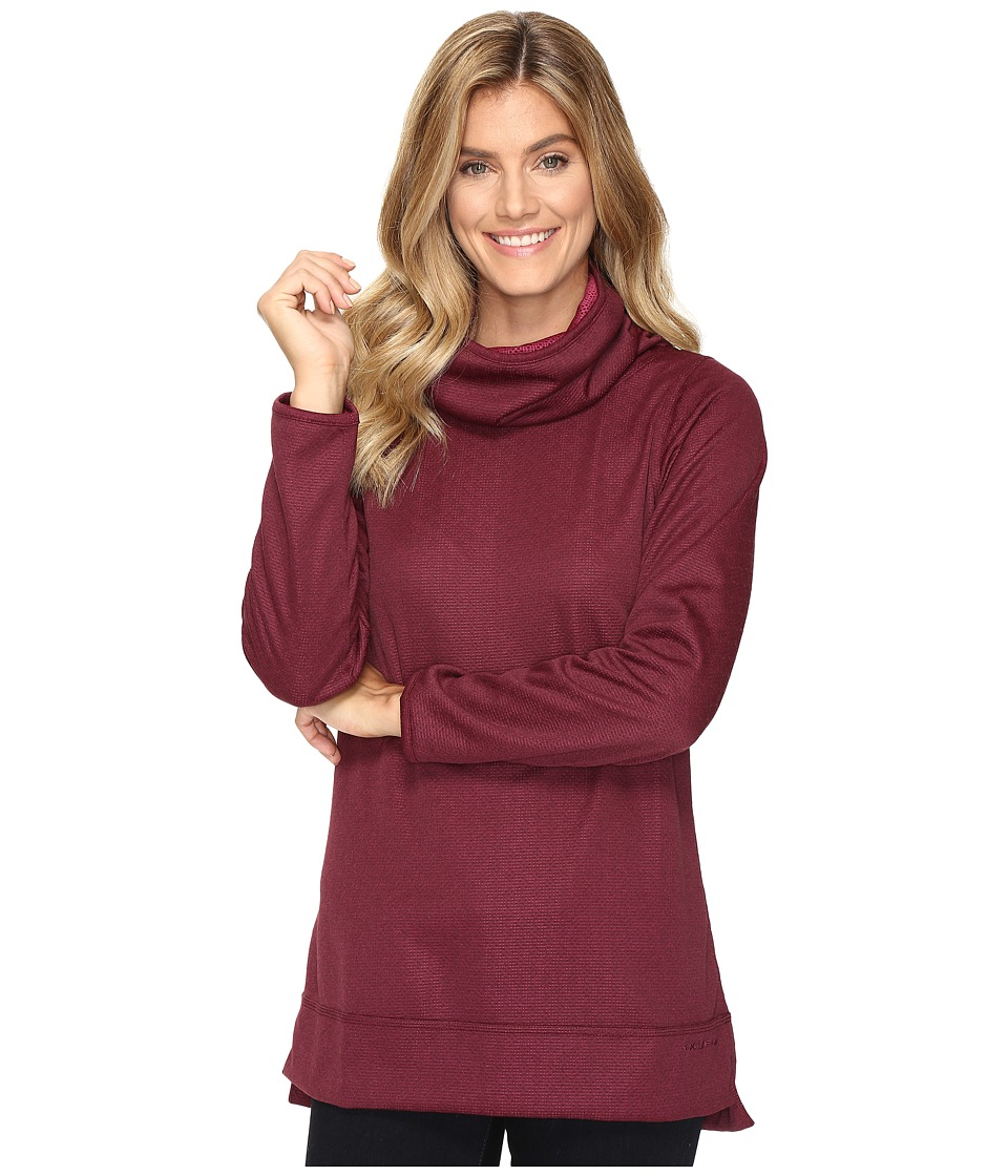 ExOfficio Tatra Reversible Pullover (Brandy) Women