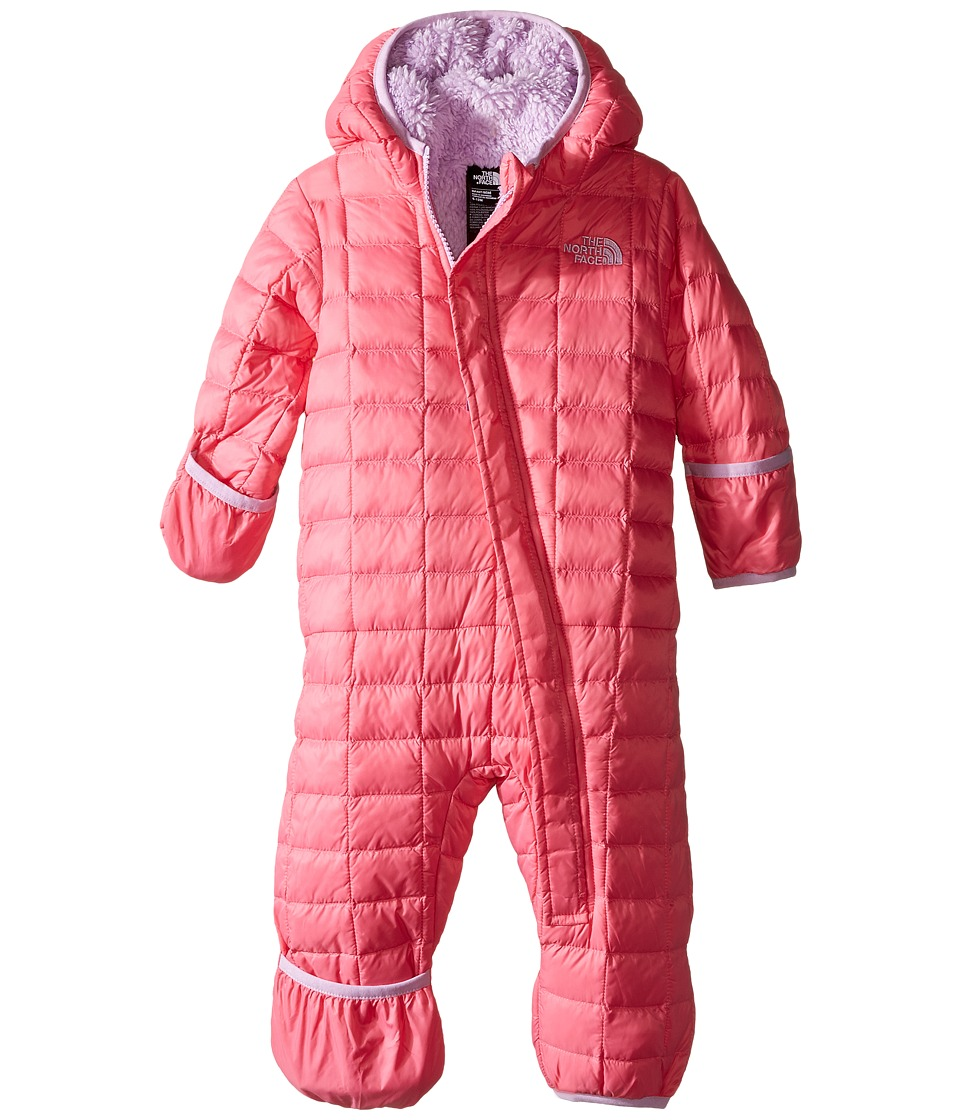 The North Face Kids - ThermoBalltm Bunting (Infant) (Cha Cha Pink) Kid's Jumpsuit & Rompers One Piece