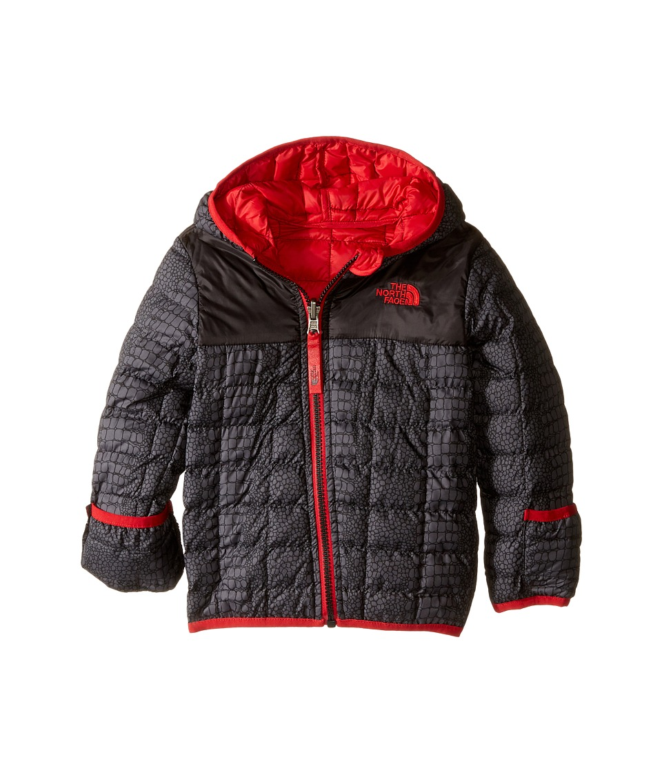The North Face Kids - Reversible Thermoball Hoodie (Infant) (TNF Black Croc Print) Kid's Sweatshirt