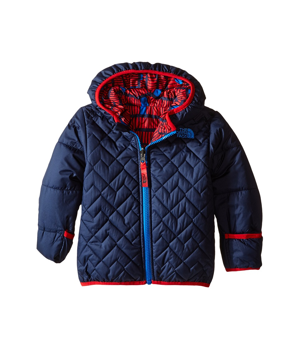 The North Face Kids - Reversible Perrito Jacket (Infant) (Cosmic Blue) Kid's Coat