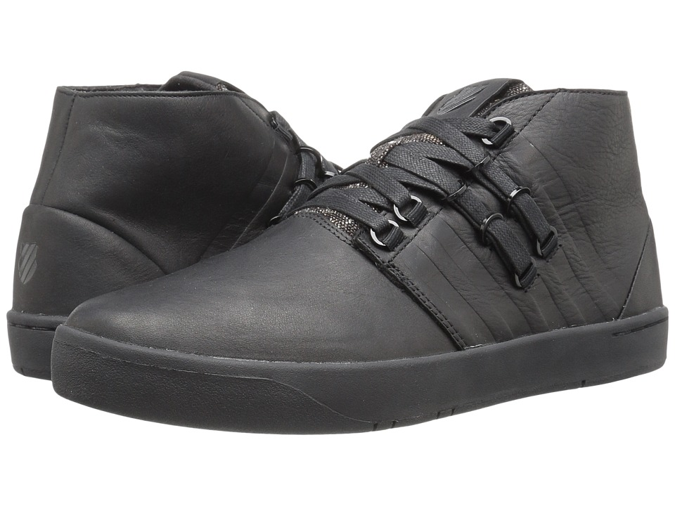 K-Swiss - D R Cinch Chukka P (Black/Black) Men's Lace up casual Shoes