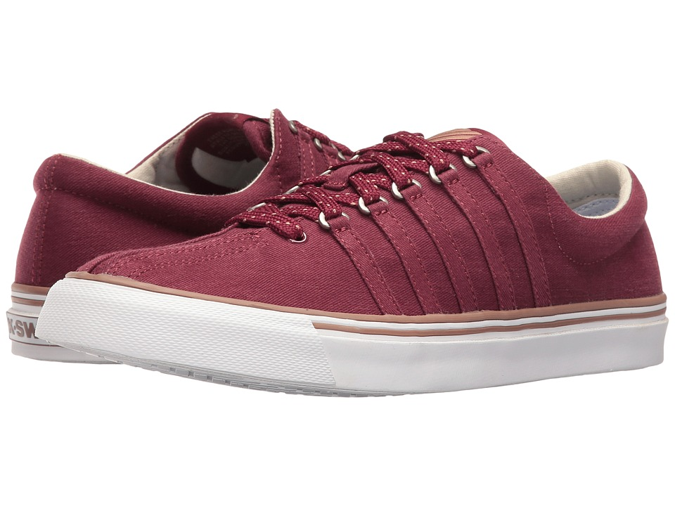 K-Swiss - Surf 'n Turf (Tawny Port/Raw Umber/White Canvas) Women's Tennis Shoes
