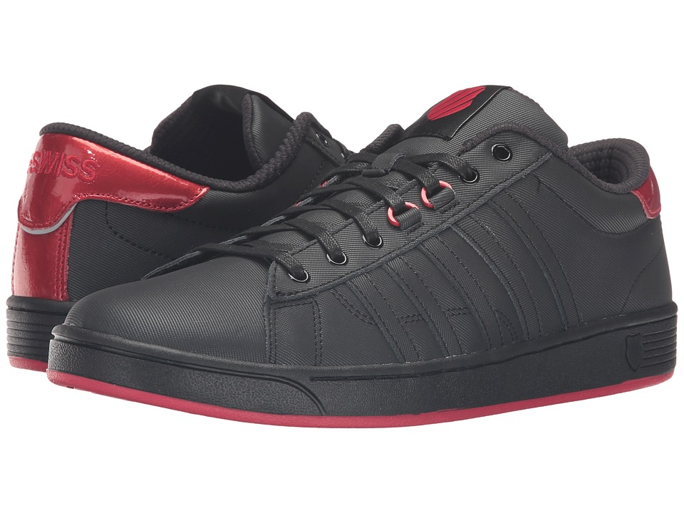 K-Swiss - Hoke Radiant CMF (Black/Lollipop) Men's Lace up casual Shoes