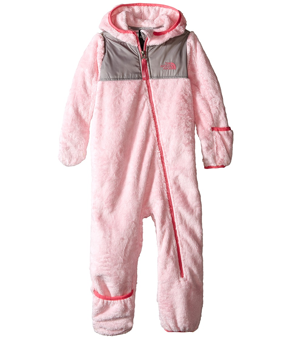 The North Face Kids - Oso One-Piece (Infant) (Coy Pink) Kid's Jumpsuit & Rompers One Piece